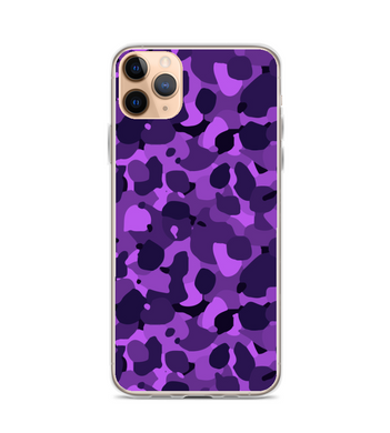 Camo Purple Print Phone Case