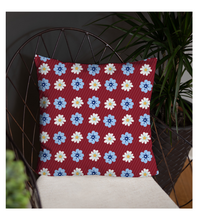 Throw Pillow Flower art prints