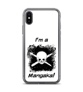 I'm a Mangaka manga anime designer artist nankin skull pirate pencil japanese hq comics Phone Case