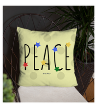 Throw Pillow Peace - Digital Art