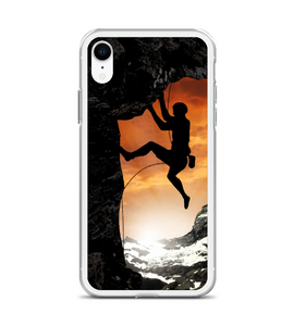 Rock Climbing climb Phone Case