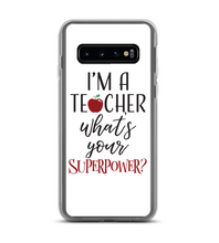 Im A Teacher Whats Your Superpower Phone Case