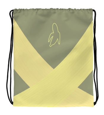 Drawstring Gym Bag Banana Bag