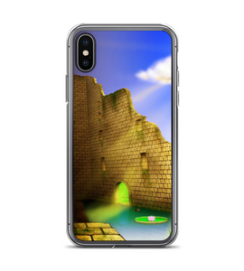 Castle Ruins middle ages medieval kingdom case cell destroyed castle medieval fantasy Phone Case