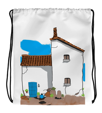 Drawstring Gym Bag Colonial House