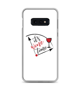 Its Wine Time Print Phone Case