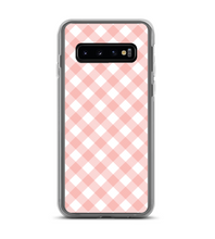 Gingham Print Phone Case