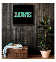 Framed Poster Love - Digital Art