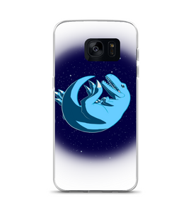 Henry, the Dinosaur who wants to be with the stars. Phone Case