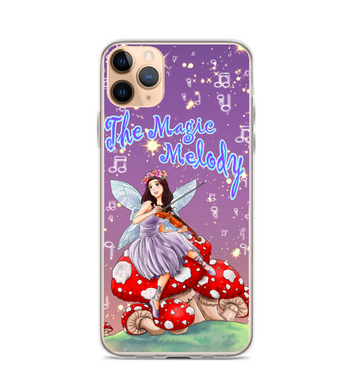 Fairy music celtic magic ninfa mushroom nymphs violin   beautiful teen 15 years Phone Case