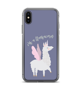 Im A Llamacorn Phone Case