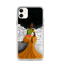 Muse on the wall afro africa black power ethnic black woman Phone Case