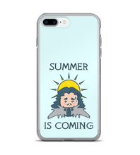 SUMMER IS COMING - Winter is coming MEME quote for HOT season Phone Case
