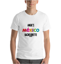 T-Shirt Custom Bachelorette Mexico Customizable Personalized Favors Beach Time Tequila Shopping Bulk