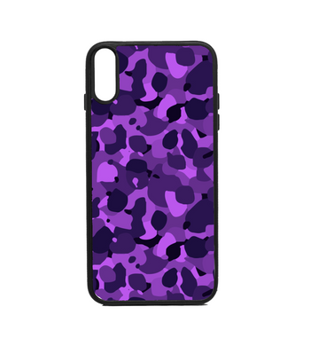 Phone Case Camo Purple Print