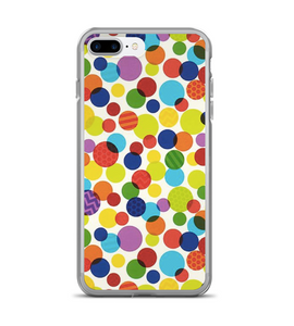Polka Dot Print Pattern Phone Case