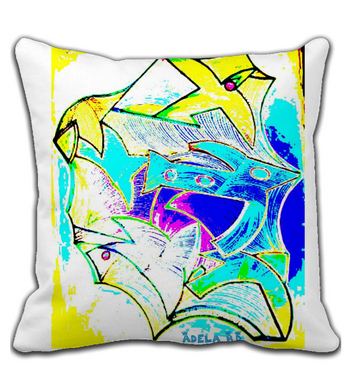 Throw Pillow Bird
