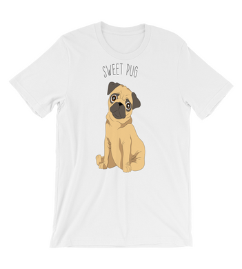 T-Shirt white with dog