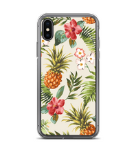 Tropical Hawaiian Print Pineapple Floral Print Pattern Phone Case