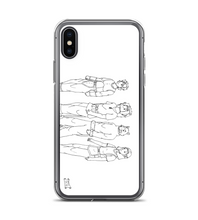manga pg comic destiny page cover illustration drawing draw black white monochromatic Phone Case
