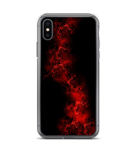 Lightning Smoke Print Phone Case