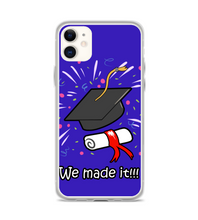 graduation color new gift present new case we made it academic Phone Case
