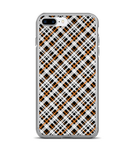 Halloween Plaid Print Holiday Spooky Phone Case