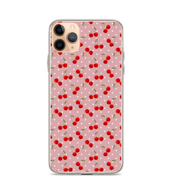 Cherry Print Phone Case