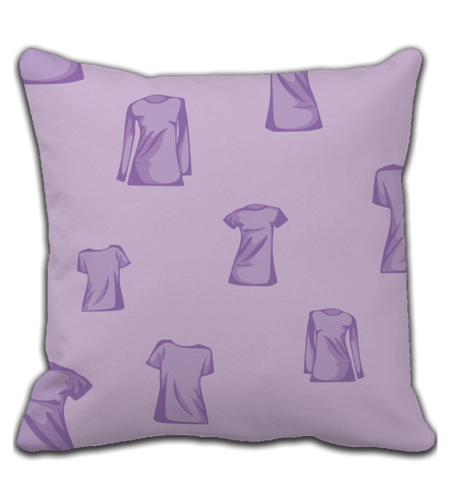 Throw Pillow Purple T-shirt tile