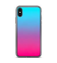 Ombre Turquoise Pink Print Phone Case