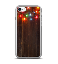 Wood Colored Lights Print Phone Case