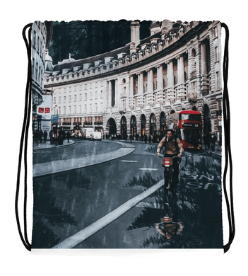 Drawstring Gym Bag Cycling at Regent Street