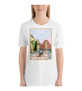 T-Shirt Dream with chess gamers surreal ambient