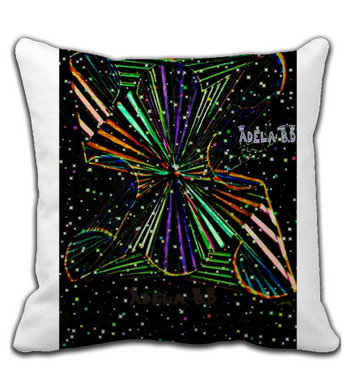 Throw Pillow Vortex