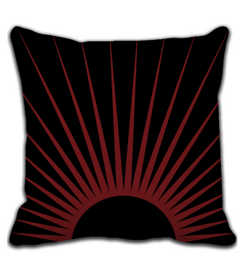 Throw Pillow Midnight Sun