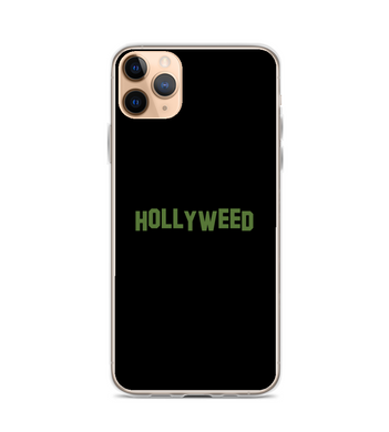 hollyweed sign Phone Case