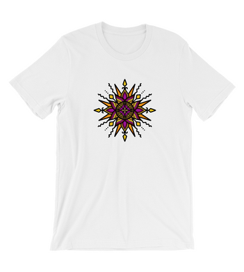 T-Shirt Sun inspired mandala art - ruling planet for 2020