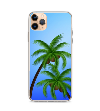 Palm Tree Paradise Beach Print Phone Case