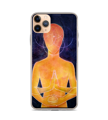 alien art space universe galaxy art Phone Case