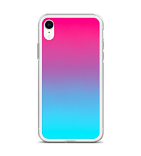 Ombre Pink Turquoise Print Phone Case