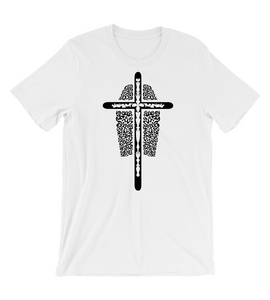 T-Shirt Jesus Christ surf surfing bodyboard cross tribal tribe sea wave god  lord saviour salvation