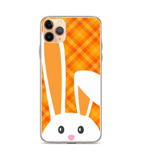 Easter Bunny Ears Orange Plaid Phone Case