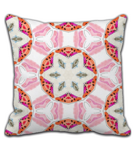 Throw Pillow Watercolor Summer pillow