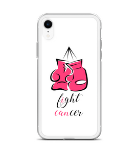 Breast Cancer I Can Fight Cancer Gloves Phone Case