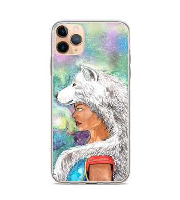 xamã wolf art Phone Case