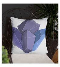 Throw Pillow Magic_glass_crystals
