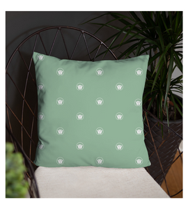 Throw Pillow Lotus Flower Pattern