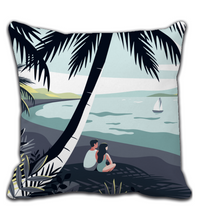 Throw Pillow Throw Pillow Love Tropic Sea