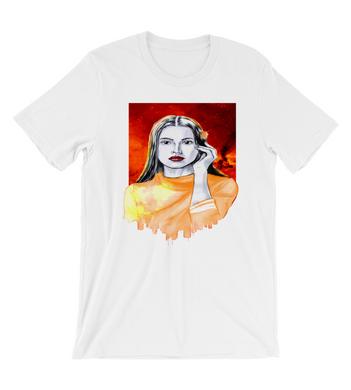 T-Shirt Phoenix woman city art