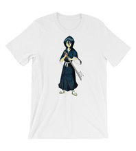 T-Shirt manga comic cover illustration drawing draw color colored fanart sword girl woman weapon